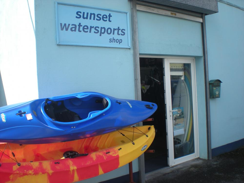 da18381ac43e7 The business today mostly retails watersports equipment ( wetsuits,  surfboards, chandlery, ropes, lifejackets, kayaks etc ), with only a bit of  time left ...
